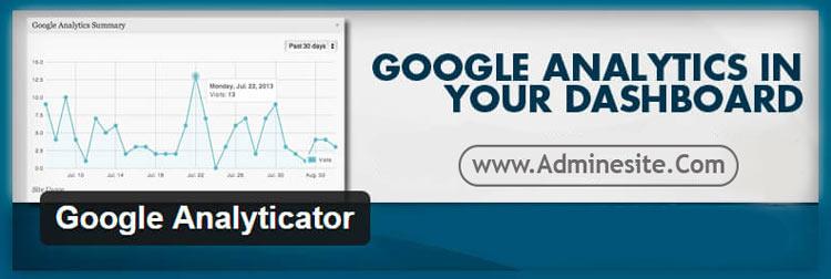 معرفی افزونه google analycator