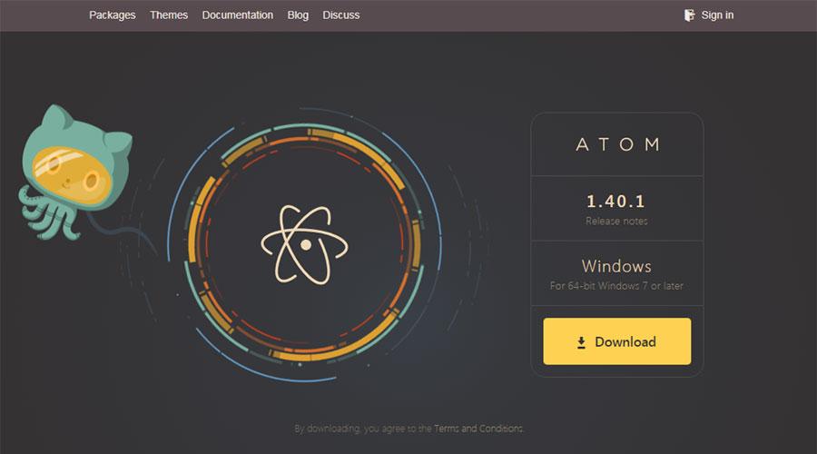 وبسایت Atom