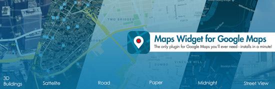 بهترین ابزارگ برای نقشه گوگل