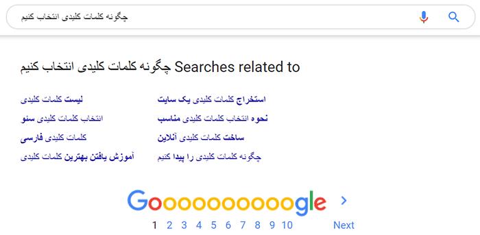 آموزش پیدا کردن کلمات کلیدی مناسب با گوگل