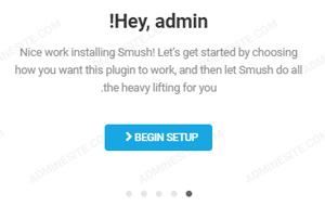 تنظیمات سریع افزونه smush
