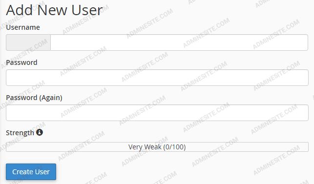 افزودن نام کاربری در دیتا بیس