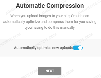 Automatic Compression در افزونه smush