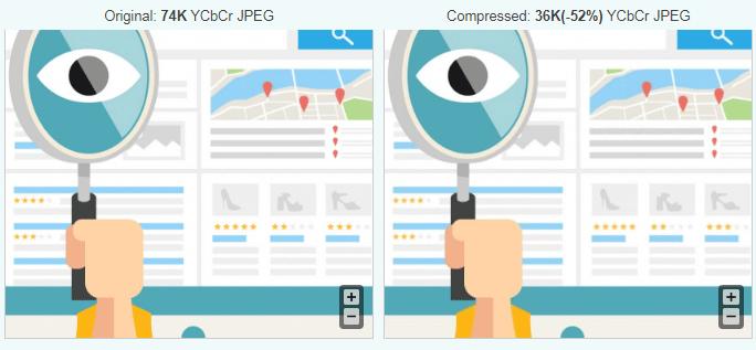 کاهش حجم تصاویر با ابزار آنلاین