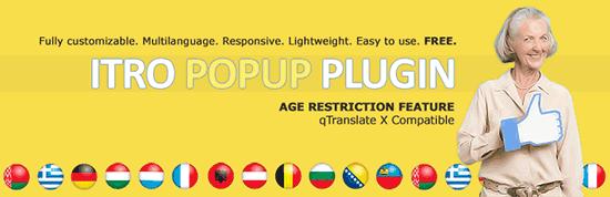 ITRO Popup Plugin از پرکاربردترین افزونهی پاپآپ وردپرس