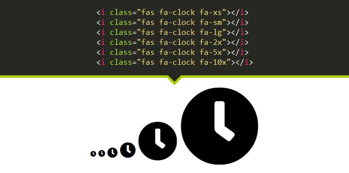 مثال سوم Font Awesome 5