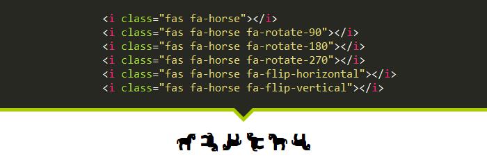 مثال ششم Font Awesome 5