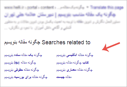 انتخاب موضوع مقاله نویسی برای سایت