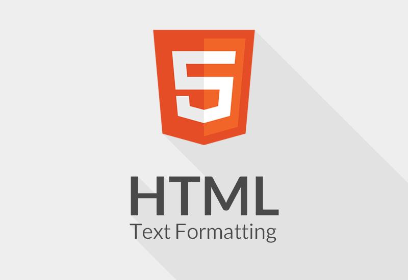 قالب بندی متون در HTML