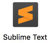 لوگو sublime text