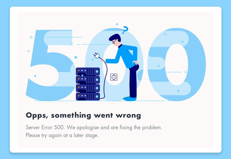 خطای ۵۰۰ چیست؟
