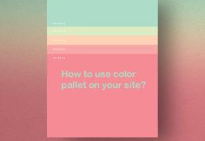 رنگ شناسی وب و اصول رنگ بندی سایت