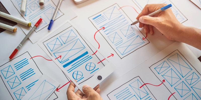 مراحل طراحی ux (تجربه کاربری) در ۵ گام
