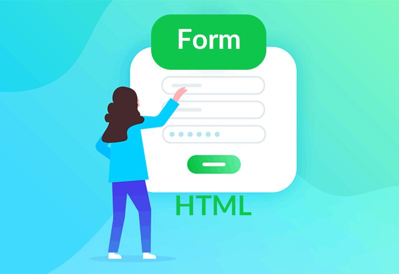 ساخت فرم در HTML
