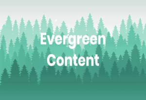 محتوای همیشه سبز چیست