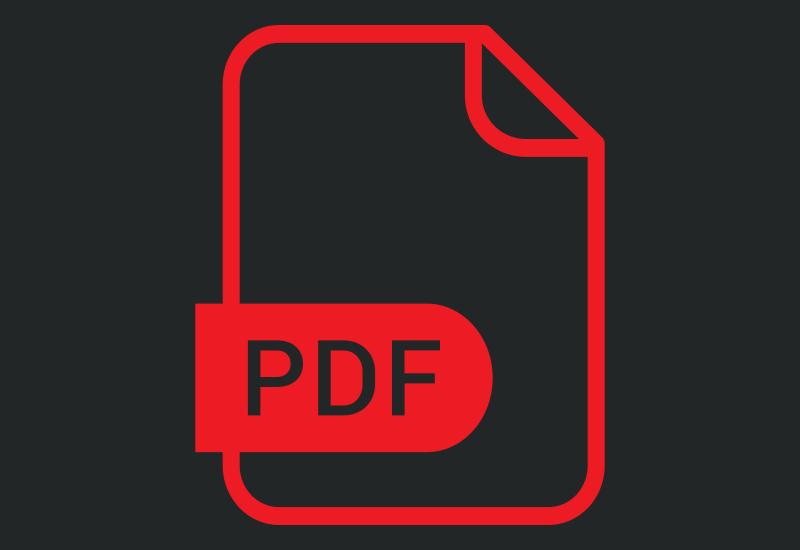تبدیل صفحهی وبسایت به PDF