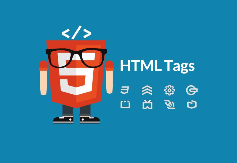لیست تگهای HTML