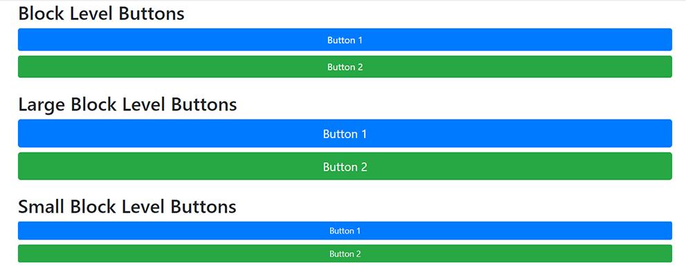 دکمهها در بوتاسترپ