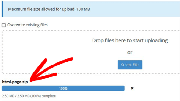 آپلود فایل html در وردپرس