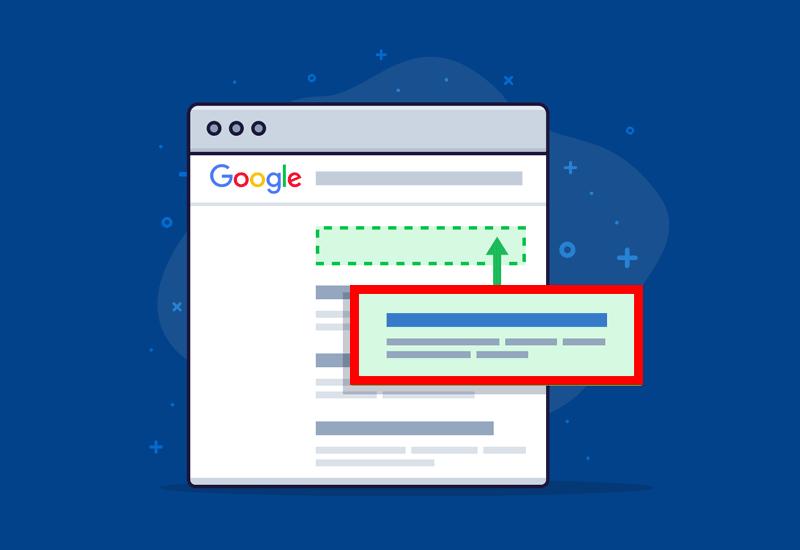 نبودن وبسایت در نتایج گوگل