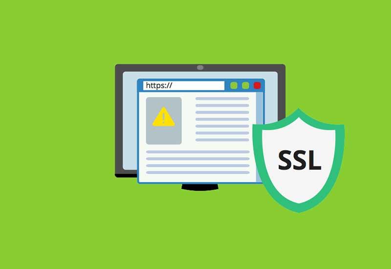 رفع خطای ssl