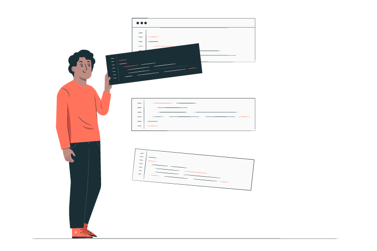 اعضای تیم برنامه نویسی طراح UI